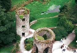 From the top of Blarney castle